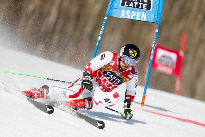 Sci Alpino, Aspen - Gigante maschile, 2° manche: Hirscher non fa sconti, secondo Neureuther. Quinto Eisath