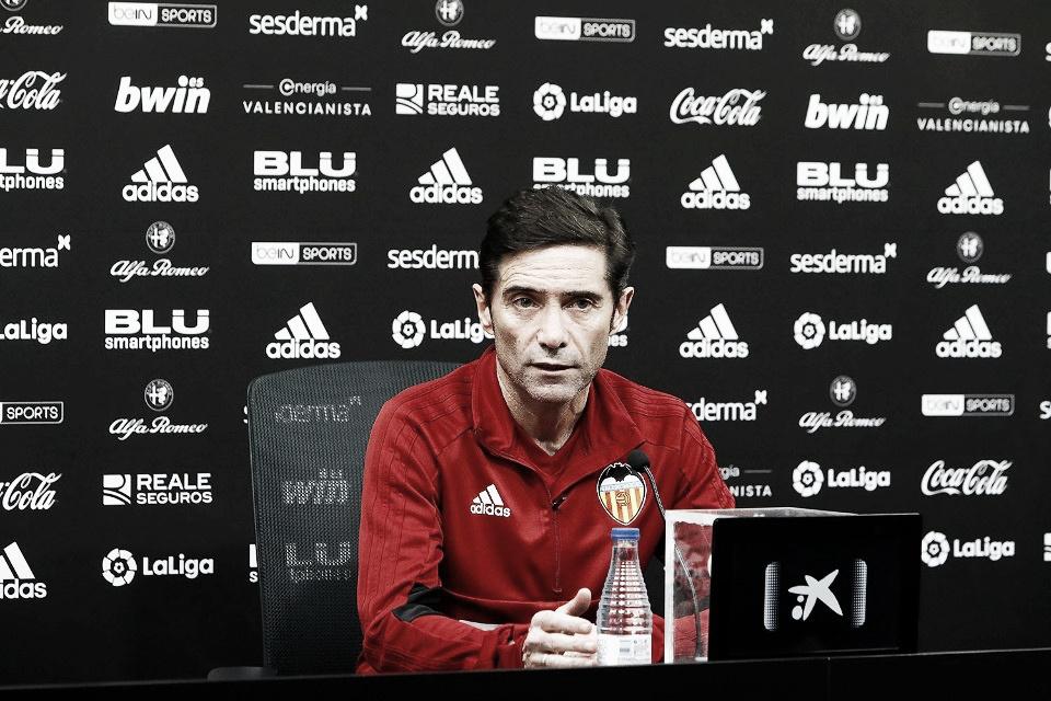"""Marcelino: """"Ganar al Ebro nos dará confianza para afrontar el duro partido ante el Sevilla"""""""