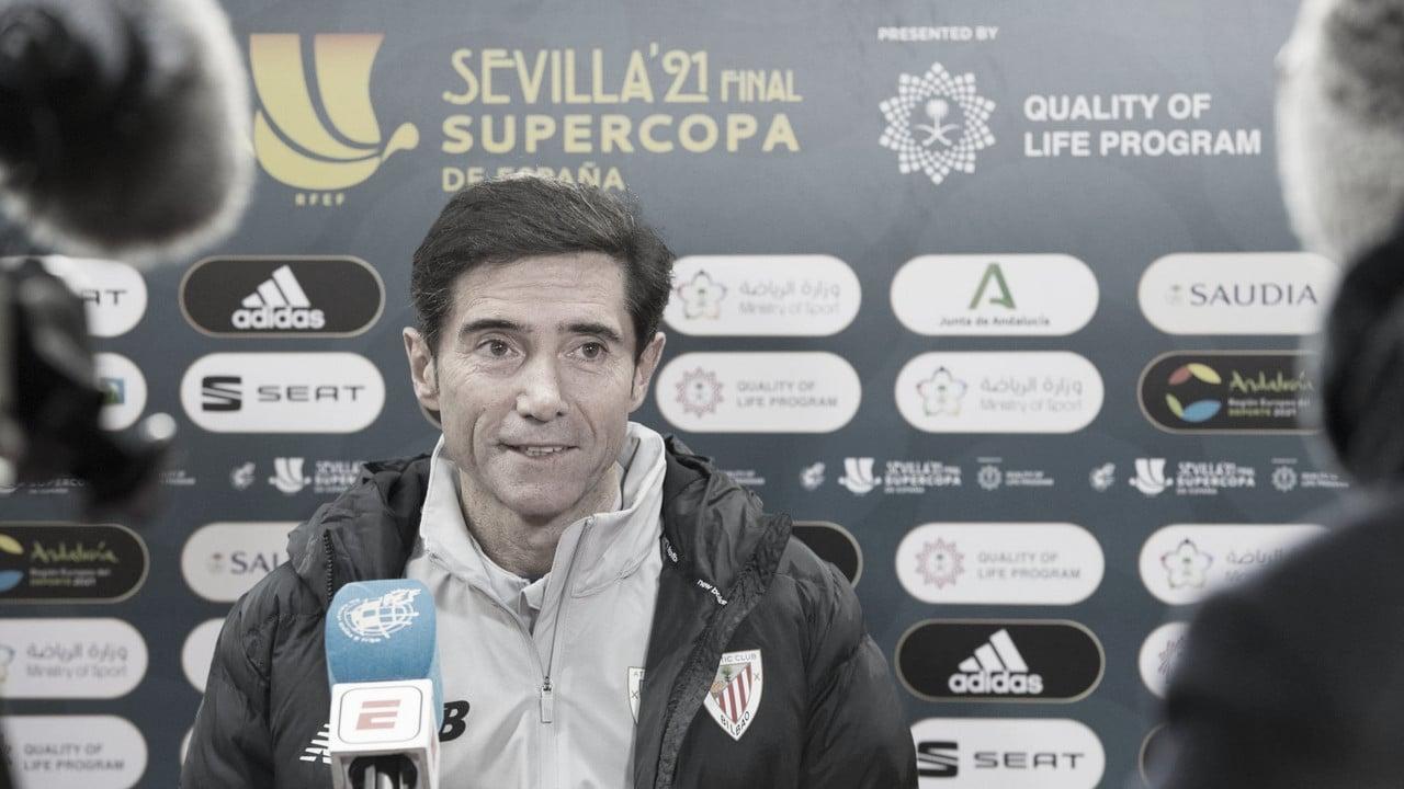 """Marcelino: """"Este título también es del anterior cuerpo técnico"""""""