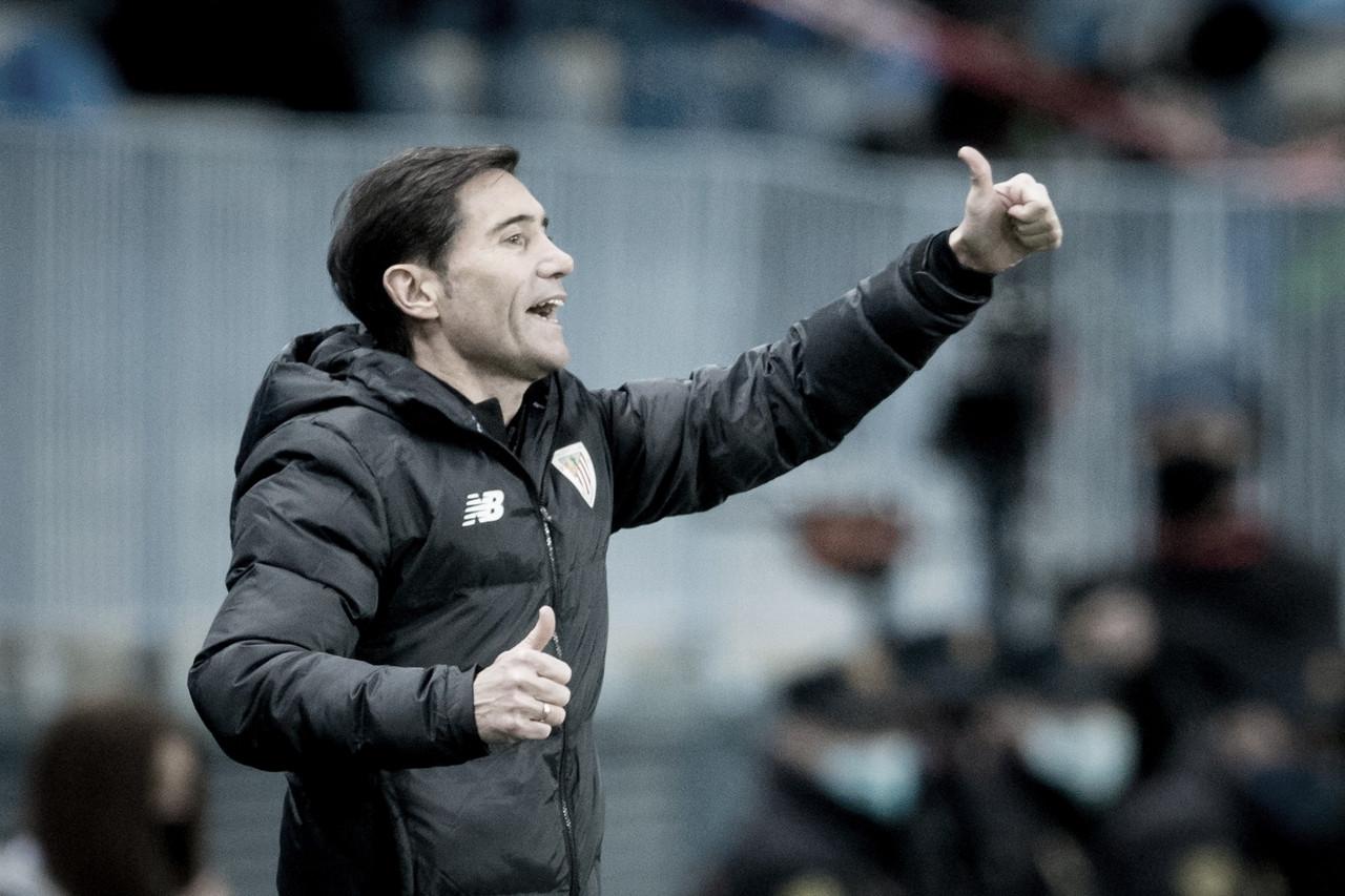 Será el primer partido de Marcelino en Copa desde su victoria con el Valencia. // Foto: Athletic Club