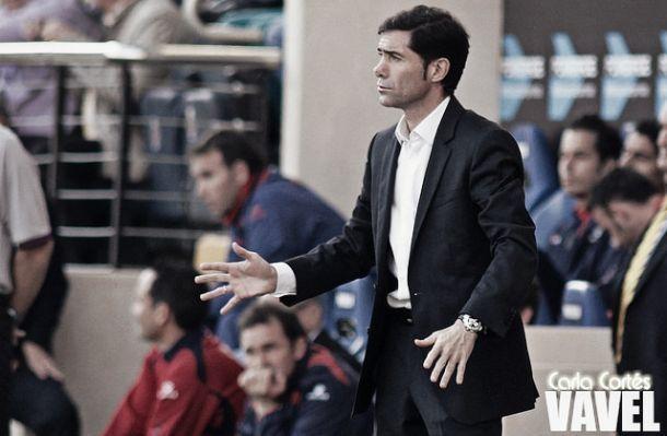 """Marcelino: """"Pensamos en ganar el siguiente"""""""