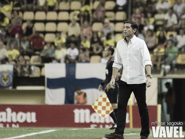 Marcelino: ''Debemos ir paso a paso''