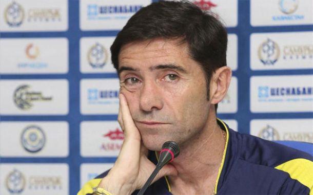 """Marcelino: """"Sería un golpe moral muy grande si le ganáramos al Barcelona"""""""