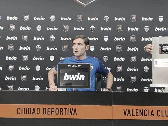"""Marcelino: """"Necesitamos un central, un lateral izquierdo y un jugador ofensivo"""""""