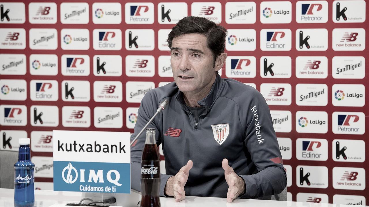 """Marcelino: """" Queremos que el equipo se convierta en ganador"""""""