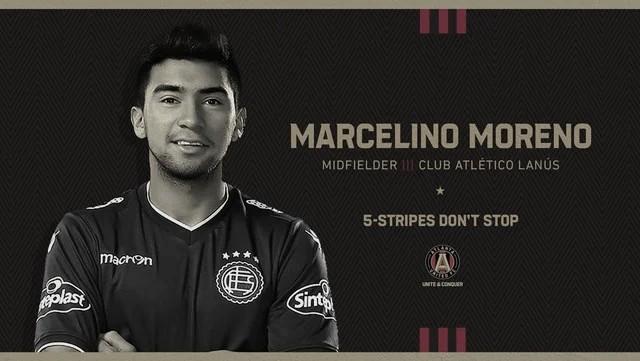 Atlanta United FC se refuerza con Marcelino Moreno
