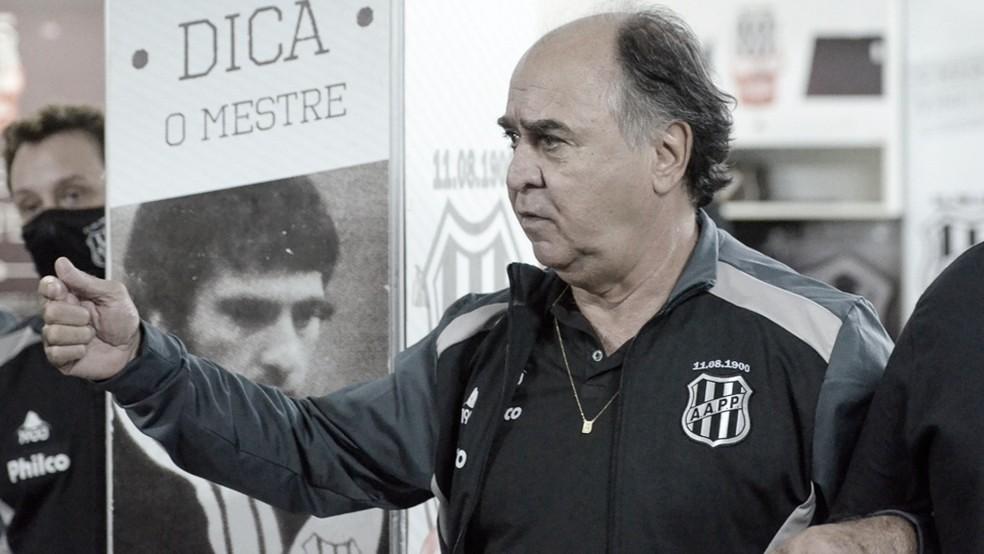 Marcelo Oliveira, técnico da Ponte Preta (Álvaro Jr/Ponte Press/Divulgação)