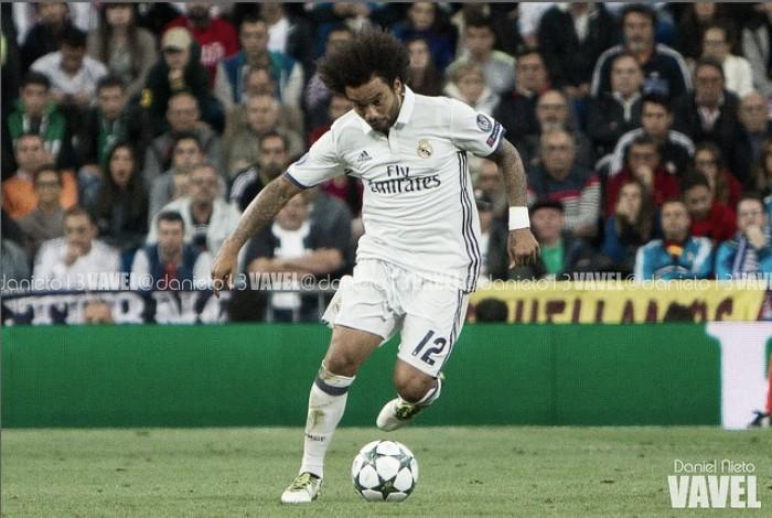 Marcelo sufre una lesión muscular en el sóleo: dos semanas de baja