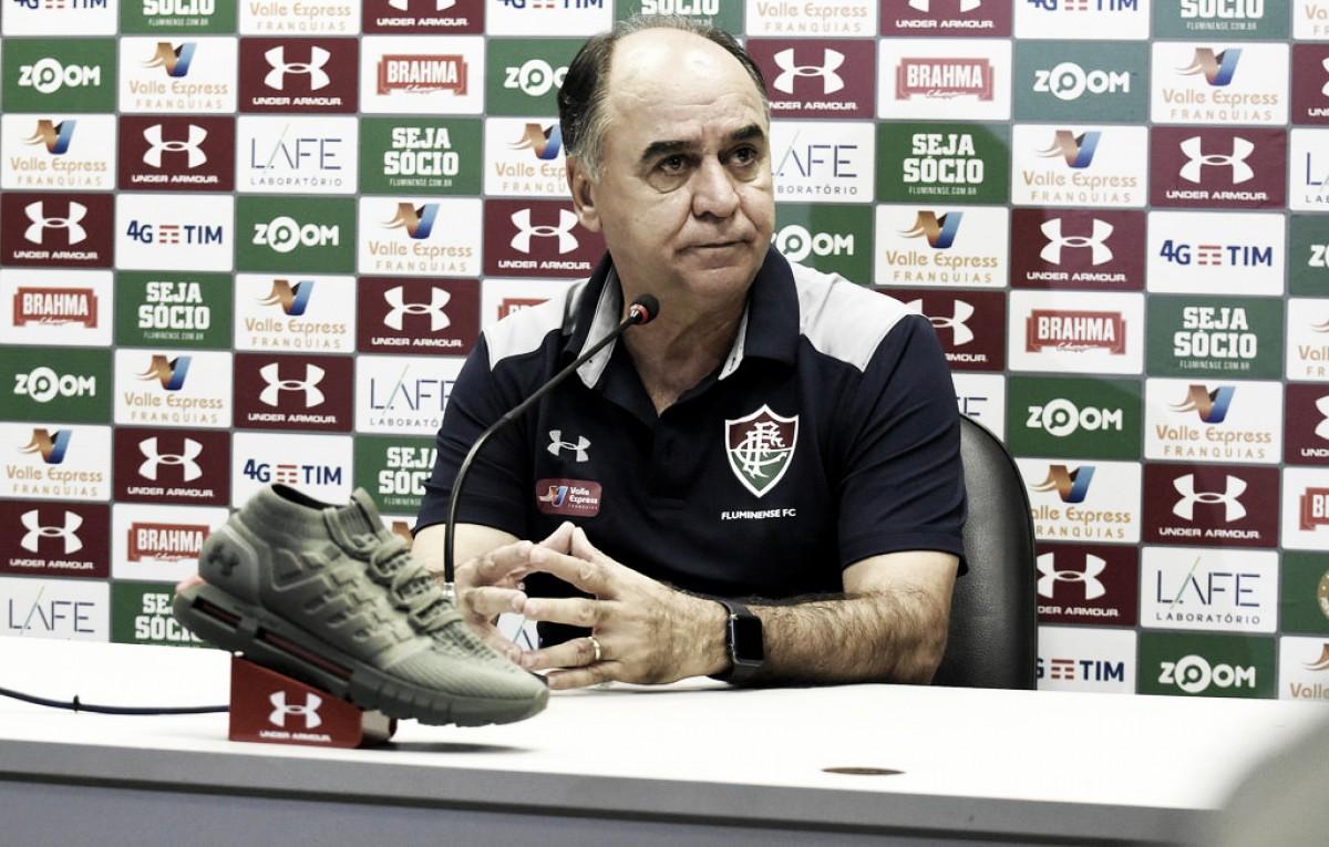 Marcelo Oliveira lamenta empate do Fluminense contra o Bahia: ''Gosto amargo''