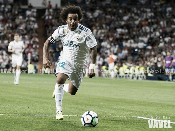 Marcelo renova contrato com Real Madrid, mas pega gancho por expulsão
