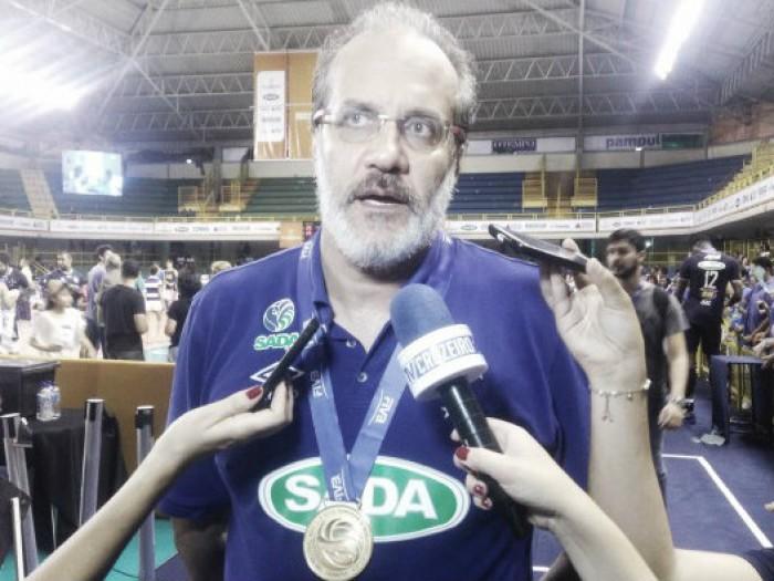 Há oito temporadas à frente do Sada Cruzeiro, Marcelo Mendez destaca eficiência da equipe