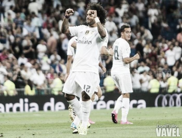 Dos brasileños, Marcelo y Roberto Carlos, como extranjeros con más victorias en Liga
