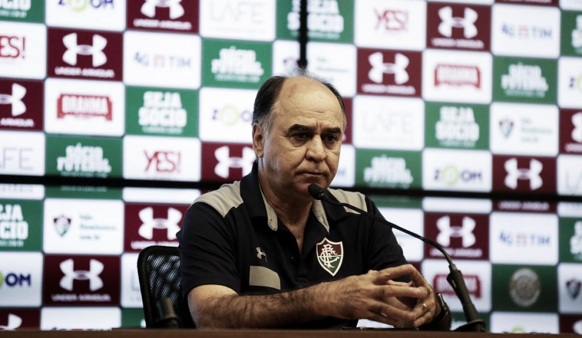 Marcelo Oliveira lamenta empate do Fluminense com um a mais: ''Ponto amargo''