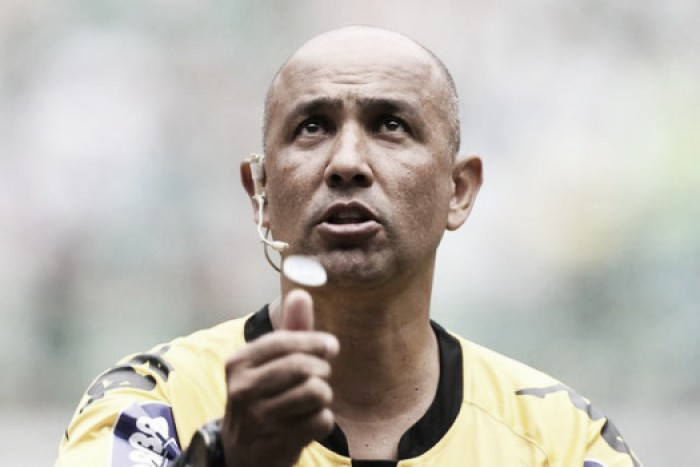 Dono do apito: Marcelo Aparecido de Souza será o árbitro de Flamengo e Cruzeiro