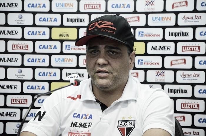 """Marcelo Cabo elogia goleiro Felipe e celebra vitória no fim: """"Um passo grande para nosso objetivo"""""""