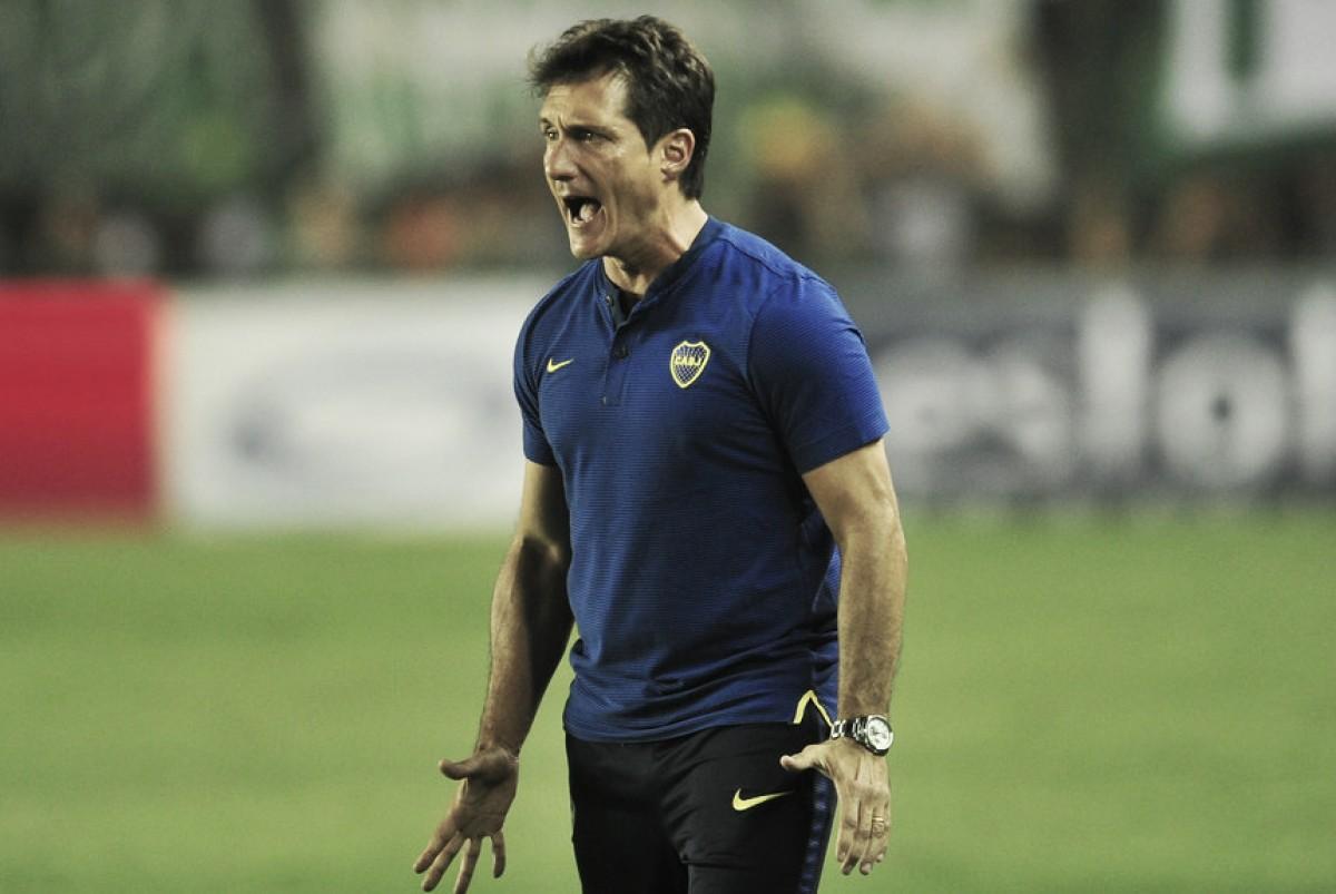 """Barros Schelotto: """"Los rivales no son mejores que nosotros, ninguno nos ha superado"""""""