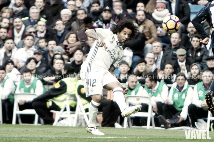 Marcelo, decimocuarto madridista con más partidos en la historia