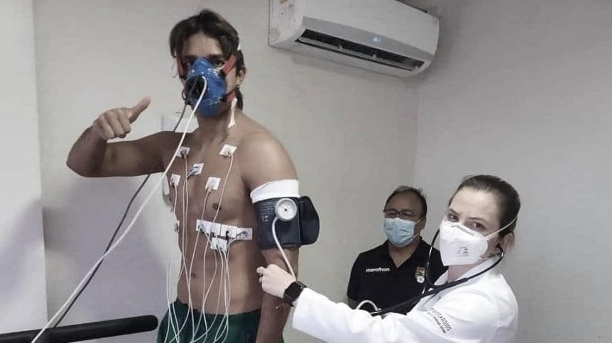 Marcelo Moreno Martins volvió a los entrenamientos y podrá estar ante Uruguay tras superar el Covid