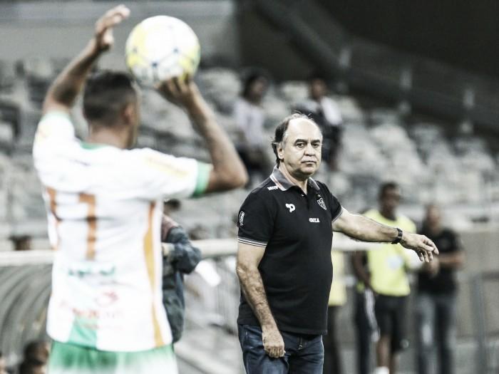 Marcelo Oliveira exalta grupo do Atlético-MG após vitória, mas vê ajustes a serem feitos na equipe