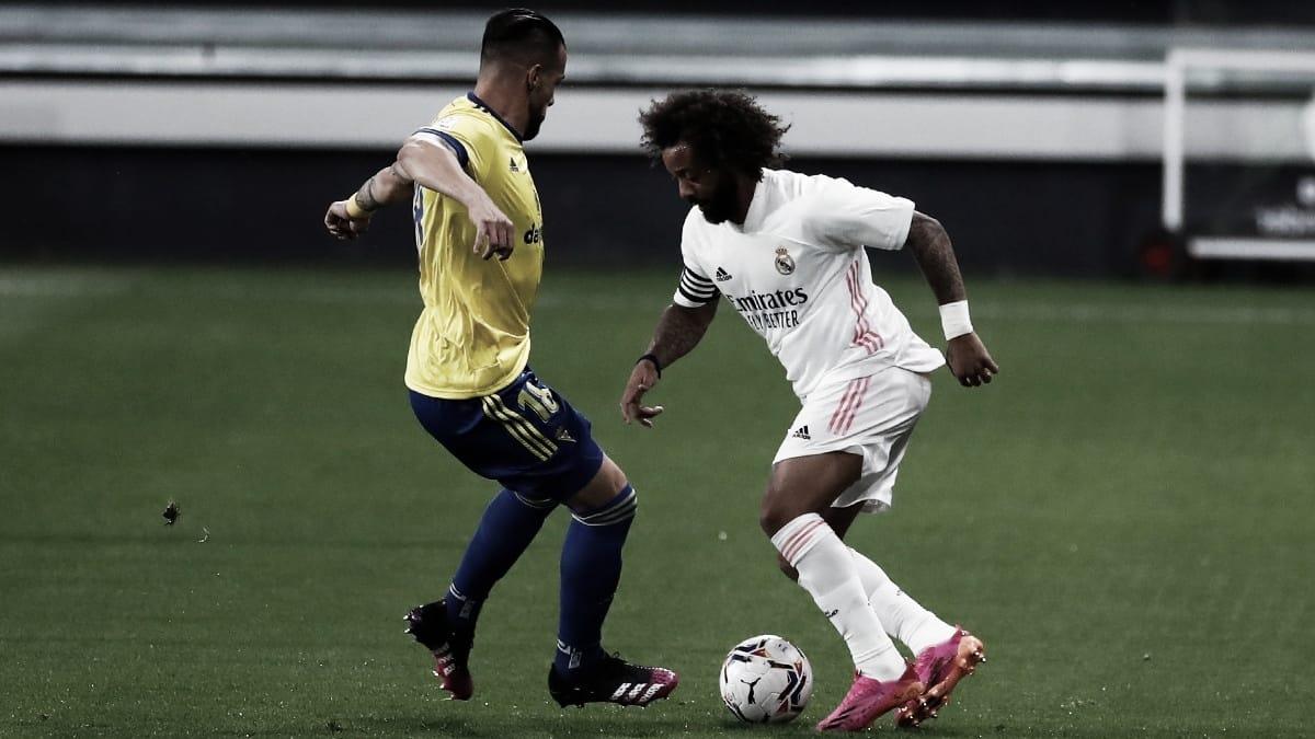 Marcelo: «Vamos a pelear hasta el final, el Real Madrid no se rinde nunca»