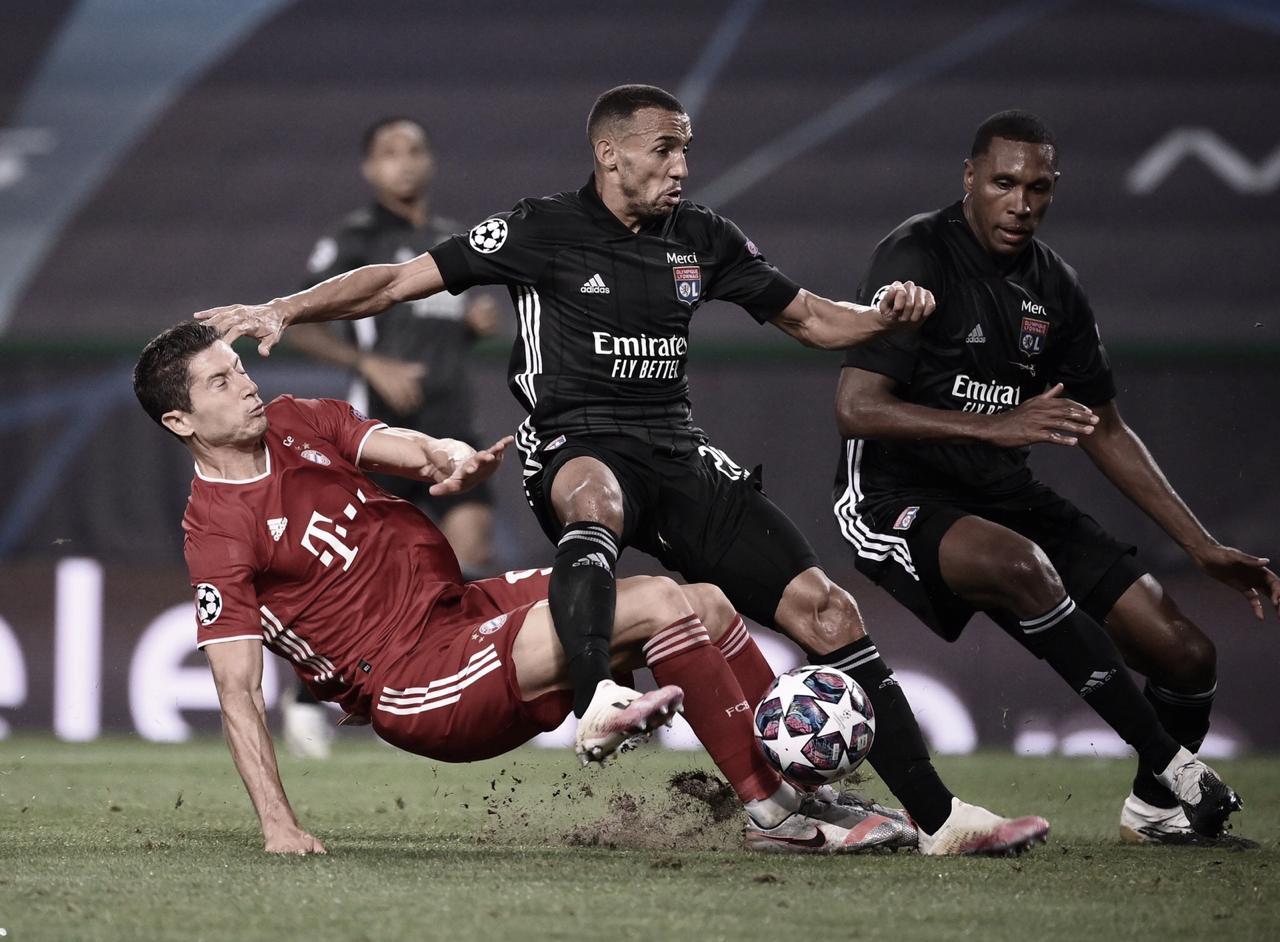 """Marcelo demonstra frustração após eliminação do Lyon na Champions League: """"Tivemos chances de ganhar"""""""