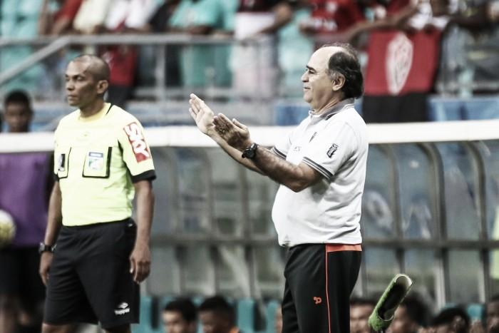 Marcelo Oliveira exalta boa atuação do Atlético-MG, mas alerta para erros nos contra-ataques