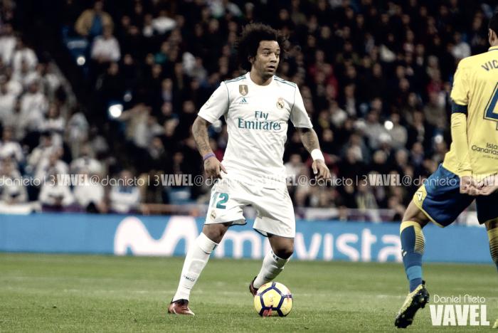 Marcelo cumple 300 partidos con la camiseta del Real Madrid