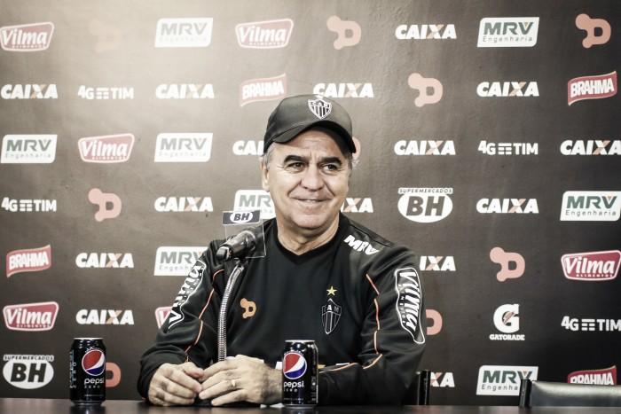 Marcelo Oliveira minimiza desfalques e exalta elenco entrosado do Atlético-MG