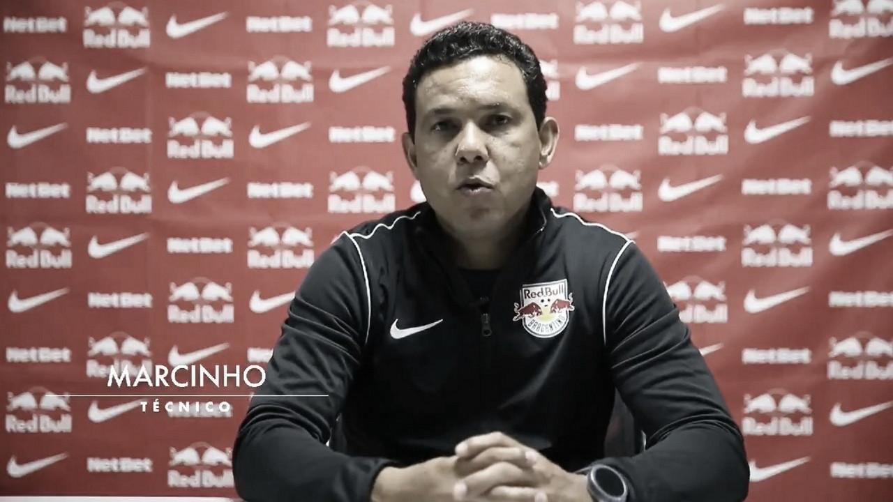 Após empate, auxiliar Marcinho exalta trabalho e confiança dos jogadores do RB Bragantino