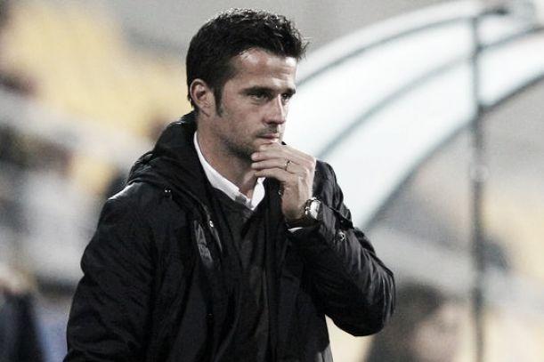 """Marco Silva: """"Não fomos eficazes mas saio satisfeito"""""""