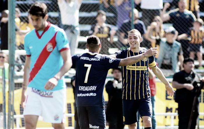 Rosario Central 5 - 0 Arsenal: ganó, gustó y goleó