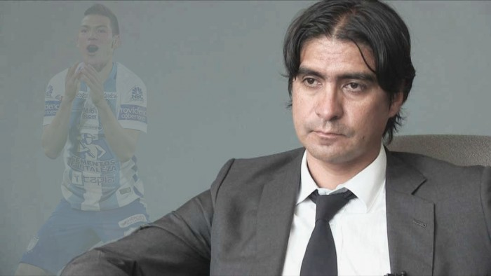 "Entrevista. Marco Garcés: ""No hay oferta del Manchester City por 'Chucky'"""