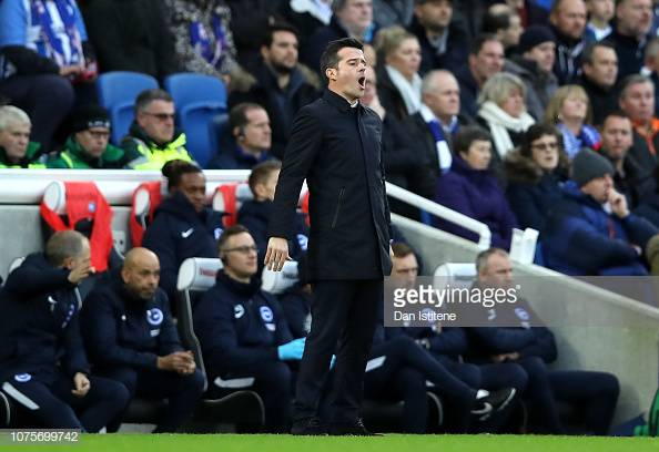 Marco Silva frustrated with defeat to Brighton