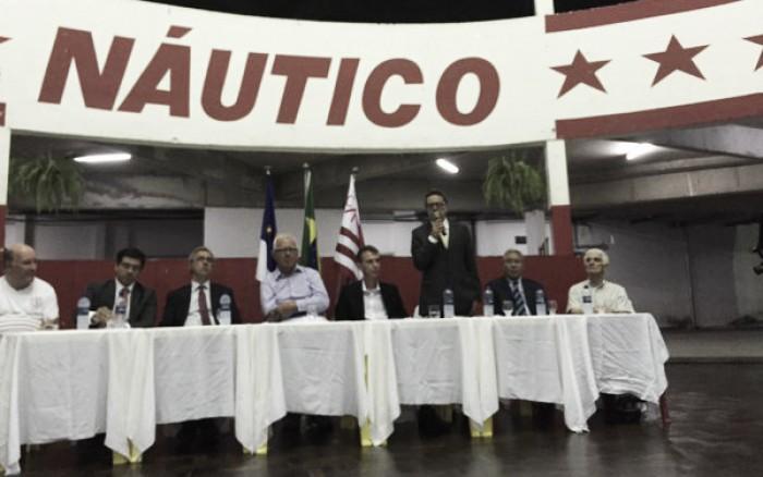 "Presidente Marcos Freitas destaca 2016 do Náutico: ""Precisamos estar juntos"""