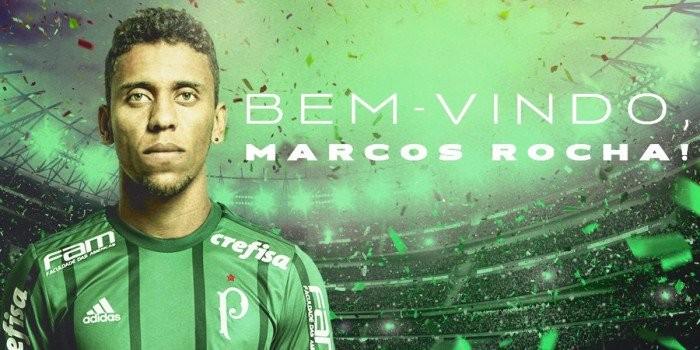 Palmeiras e Atlético-MG anunciam troca de Róger Guedes por Marcos Rocha