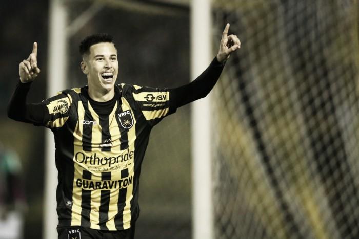 Autor de dois gols na decisão, Marcos Junior destaca empenho coletivo do Voltaço na Série D