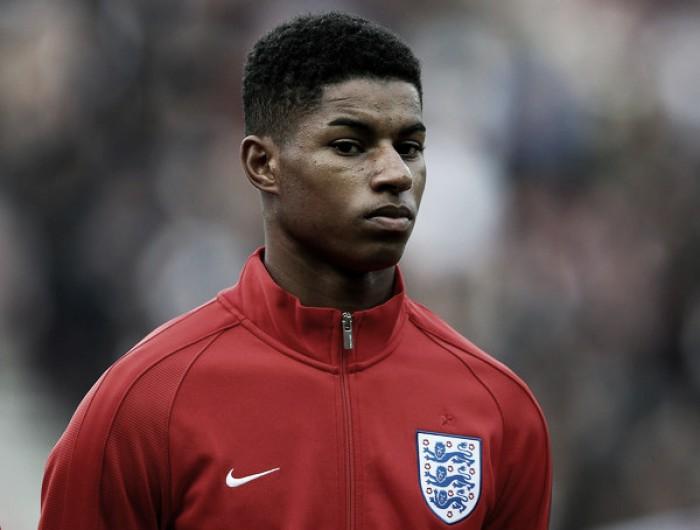 """Jovem Rashford marca em sua estreia pela Inglaterra; Henderson elogia: """"Ele tem tudo"""""""