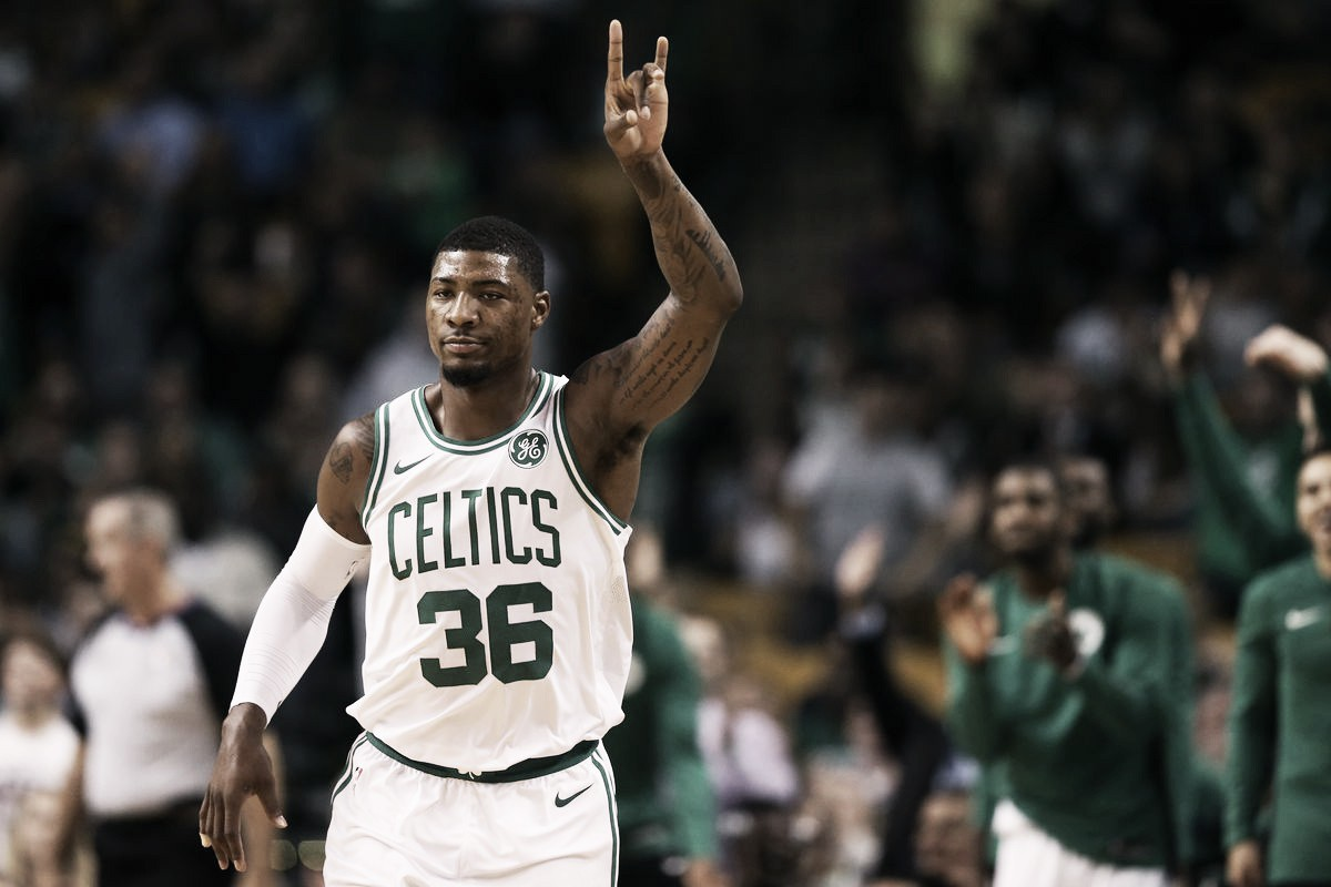 Marcus Smart, a un paso de renovar con los Celtics