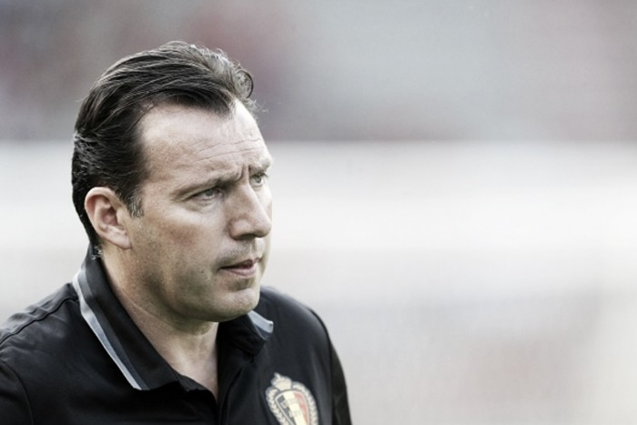 Wilmots expecting better performance from Belgium in crucial last-16 clash with Hungary