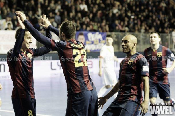Inter Movistar y FC Barcelona mantienen el pulso