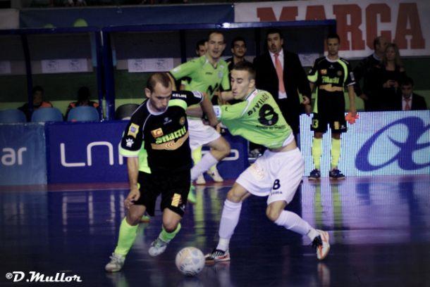 Marfil Santa Coloma - Inter Movistar: goles por doquier