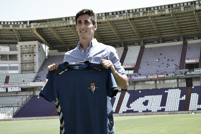 """Diego Mariño: """"Voy a darlo todo por el Real Valladolid"""""""