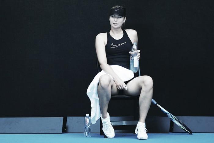"""Sharapova: """"Me alegro mucho de volver a jugar en Melbourne"""""""