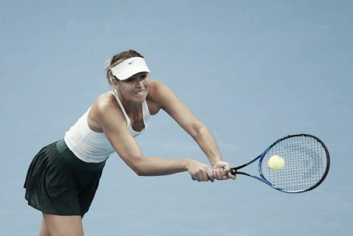 Sharapova debuta sin complicaciones en Tianjin