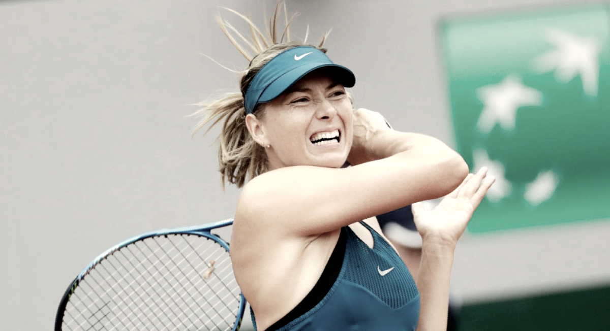 Serena y María volvieron ganadoras a Roland Garros