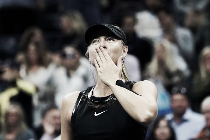 US Open: Maria Sharapova battles past Sofia Kenin to reach the fourth round