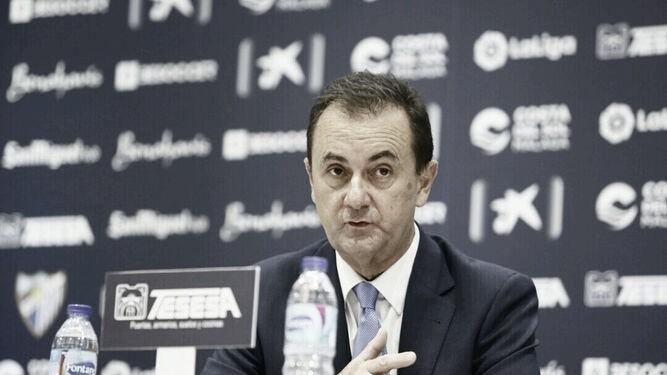 José María Muñoz pide más apoyo al Málaga CF