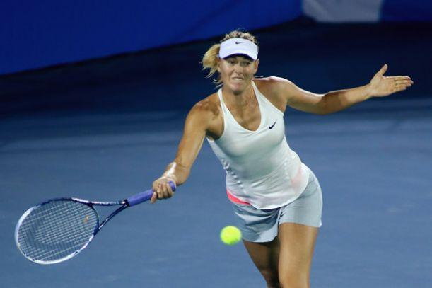WTA Wuhan, fuori anche Sharapova