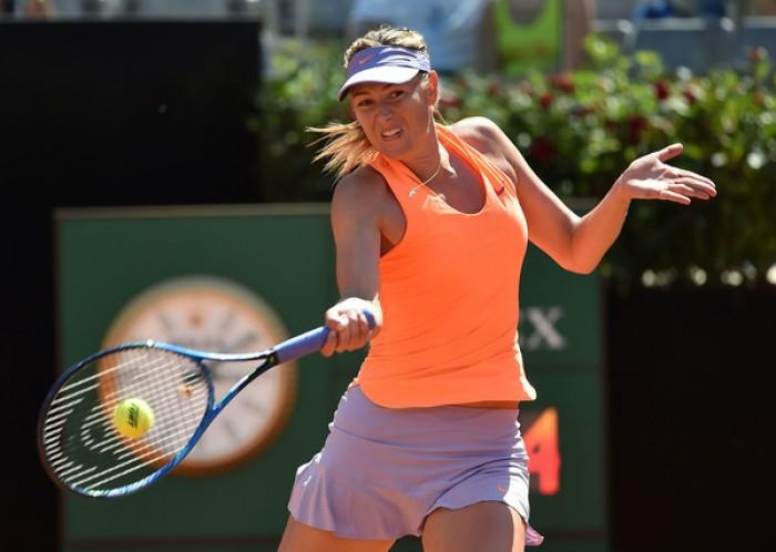 WTA - La Sharapova salta Birmingham