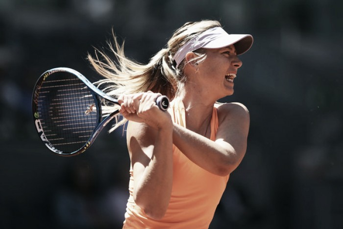 Sharapova survives Lucic-Baroni test to set up Bouchard showdown